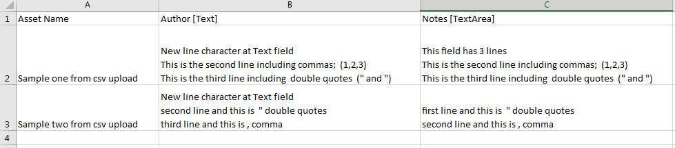 Common Format Type for Comma-Separated Values (CSV) Files ... on csv format in excel, text format example, journal entry format example,