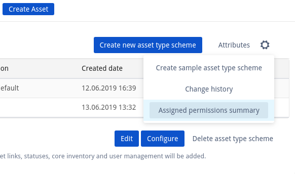 Permissions Schemes - Assets and Inventory - Confluence